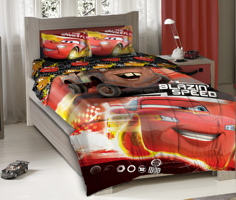 Disney Cars Blazing Speed Full Bedding Comforter Set