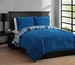 Full Forever Young Freestyle Comforter Set Blue/Gray/White