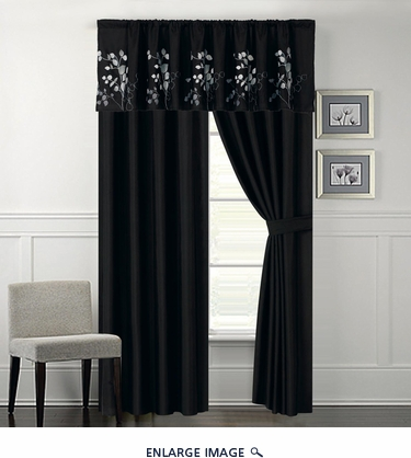 Gatsby Embroidered Curtain Set