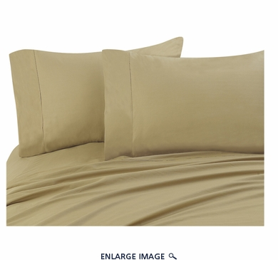 Gold 300 Thread Count Cotton Sheet Set Cal King