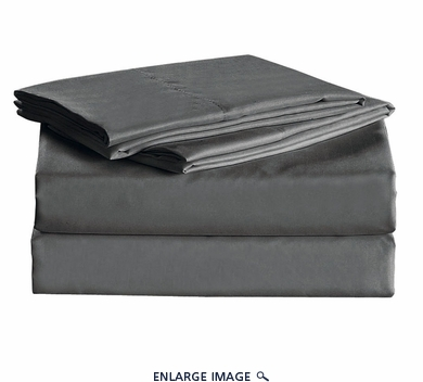 Gray Micro Fiber 1600TC Sheet Set Twin