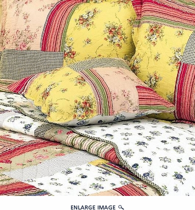 Heritage Bouquet Bedding Matching Sham