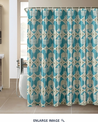 Iris Shower Curtain