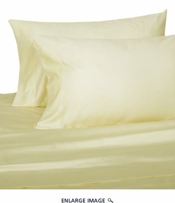 Ivory Hotel 600 Thread Count Cotton Sateen Sheet Set King