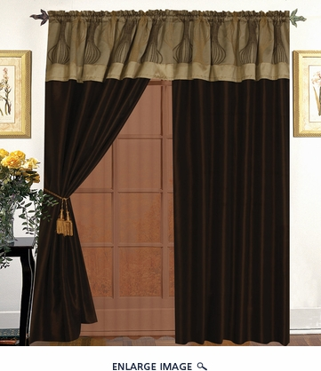 Kath Curtain Set w/ Tassels / Sheers