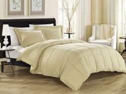 Khaki Down Alternative Comforter Set Full/Queen