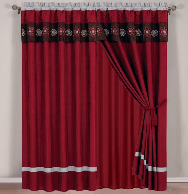 Amazoncom matching bedding and curtains