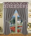 Megellan Curtain Set w/ Valance/ Tiebacks / Sheers