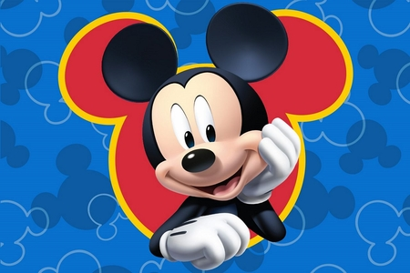 Memory Foam Bath Rug Mickey Mouse