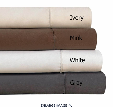 Mink Silky Bamboo Sheet Set Cal King