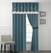 Monroe Coral Curtain Set