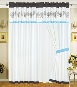Oceana Sea Life Curtain Set