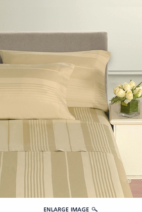Pavillion Gold 500 Thread Count Cotton Sheet Set Queen