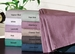 Pink 500 Thread Count Cotton Paisley Sheet Set Full