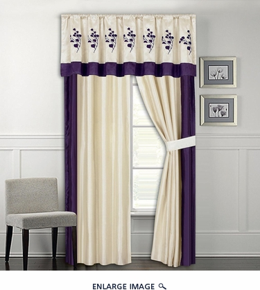 Portola Embroidered Curtain Set