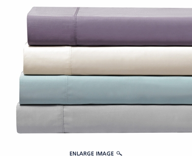 Purple Silky Bamboo Sheet Set Cal King