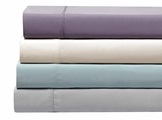 Purple Silky Bamboo Sheet Set Queen