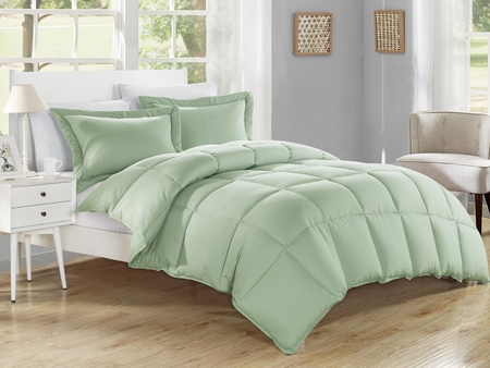 Sage Down Alternative Comforter Set
