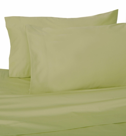 Sage Hotel 600 Thread Count Cotton Sateen Pillowcases Standard/Queen