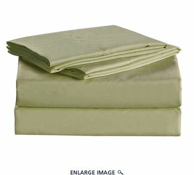 Sage Micro Fiber 1600TC Sheet Set Twin