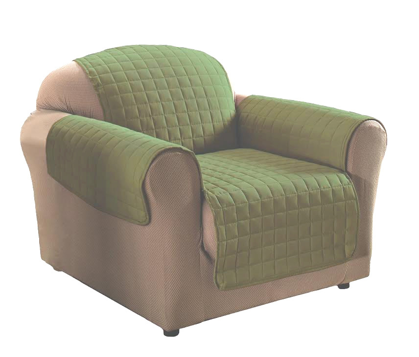 Sage Micro Suede Chair Protector