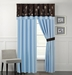 Salzer Brown Curtain Set