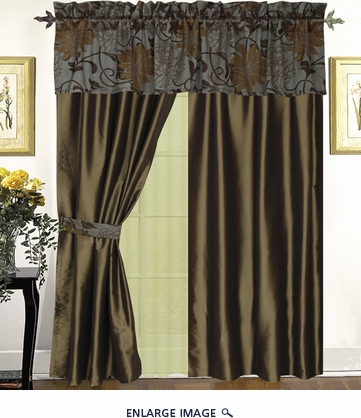 Sherwood Curtain Set w/ Tassels / Sheers