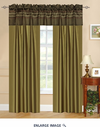 Sydney Curtain Set w/ Tassels / Sheers