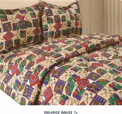 Twin Champions Bedding Comforter Set