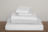 White Collins 1000 Thread Count Solid Sheet Set Queen