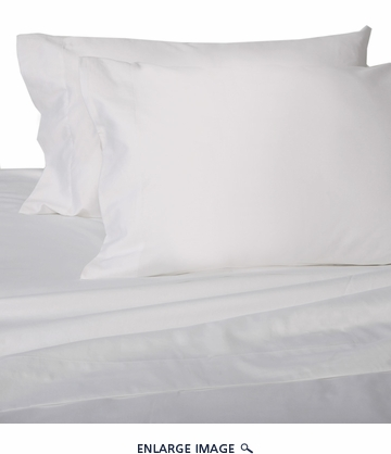 White Hotel 600 Thread Count Cotton Sateen Sheet Set Full