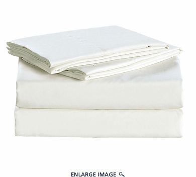 White Micro Fiber 1600TC Sheet Set Twin