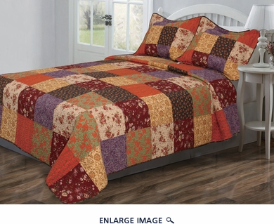Winston Cotton Quilt Set Queen