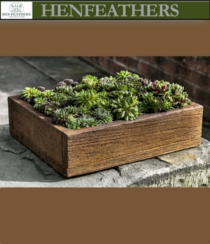 Barn Board Planter Medium