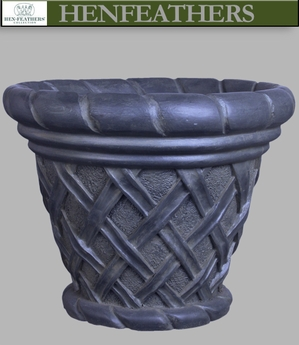 Basket Weave Planter {USA}n
