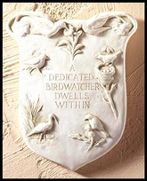 Birdwatcher Decorative Wall Plaque{USA}