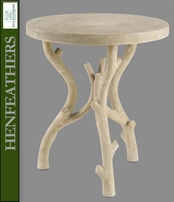 Chambord Faux Bois Cafe Tea Table (n)