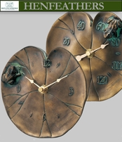 Lily Pad Clock & Thermometer Set