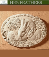 Bunny Decorative Wall Plaque{USA}