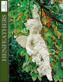 Fairy on Vine Garden Sculpture {USA}