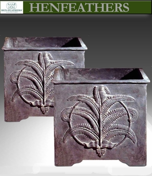 Fern Planters Pair Sample