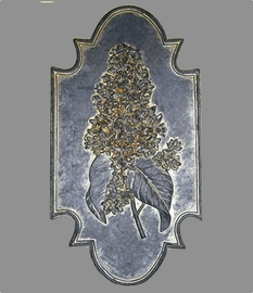 Flower Botanical Plaque - Lilac {USA}