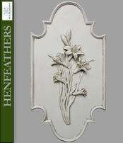 Flower Botanical Plaque - Lily DV {USA}