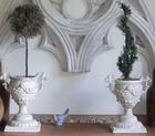 Goblet Topiary Urn Pair {USA}