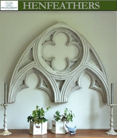 Gothic Architectural Arch Wall Piece/House & Garden Architectural Element {USA}
