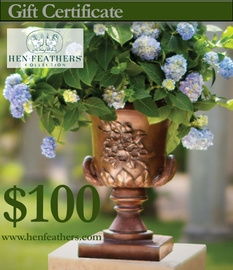 HenFeathers $100 Gift Certificate