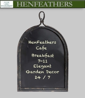 HenFeathers Patio Cafe & Entertaining