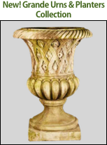 See the New Grande Urns & Planters Collection