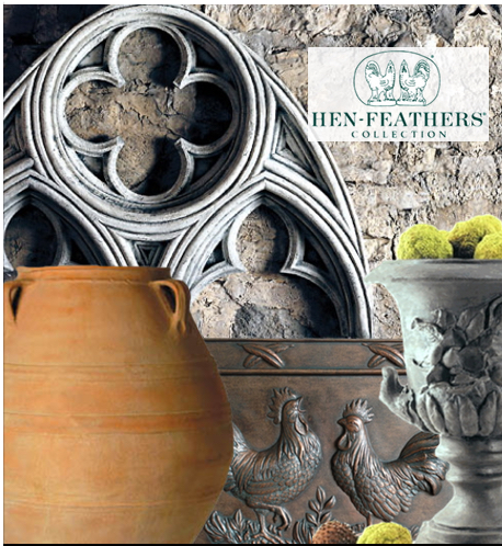 See HenFeathers Home & Garden Decor Collections