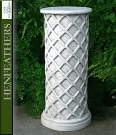 Vintage Lattice Weave Pedestal {USA}